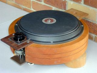 Commonwealth Electronics 12d Professional Transcription Turntable Base