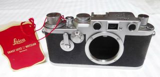 Leica Leitz 3f Iiif Camera 796698 From 1955 Meat 6month Warrant