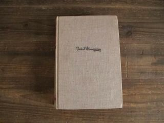 Ernest Hemingway Hand Signed 1st Edition Scribners A For Whom The Bell Tolls Nr