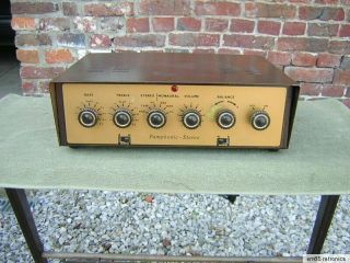 Pamphonic 3000 First Stereo Valve Amp 15 Ohm Suit Rogers Ls3/5a,  Tube Amplifier