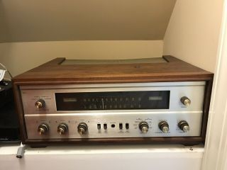 Fisher 800c 800 - C In Wood Cabinet In
