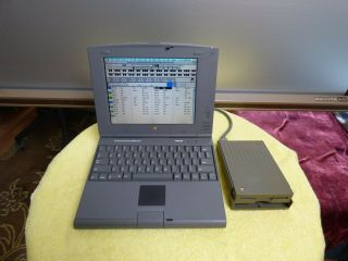Apple Powerbook Duo 2300c Powerpc 603e 100mhz