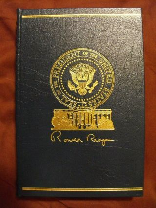 Speaking My Mind Leather Bound Signed Edition By Ronald Reagan 273/5000