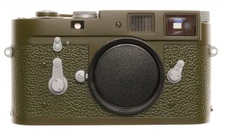 Leica Olive M2 Safari Re Paint Improved View Finder Restored