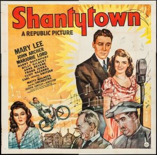 Vintage Movie 16mm Shantytown Feature 1943 Film Drama Adventure