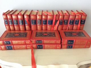 Franklin Library Oxford - 1984 - Complete Of Charles Dickens - 21 Volumes