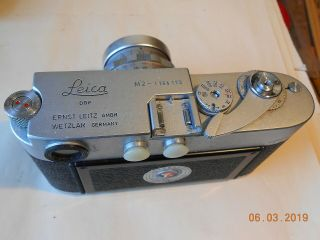 LEICA CAMERA M - 2 WITH 35mm,  50mm,  135mm LENS FLASH CASE & 2
