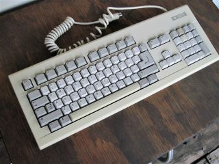 Commodore Amiga 2000 Keyboard,  Made By Commodore,  Fully Operational