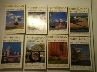 Vintage 1980 & 1990 The Smithsonian Guide To Historic America 8 Issues All 1st E