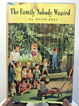 Vintage Book The Family Nobody Wanted By Helen Doss Peoples Book Club 1954 Usa