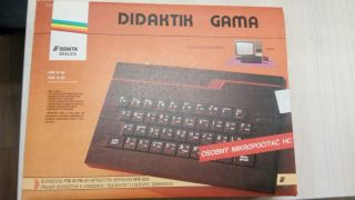 Didaktik Gama Zx Spectrum Clone Made In Cssr - Czechoslovak Socialist Republic