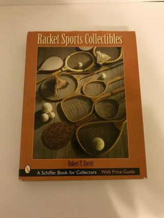 Racket Sports Collectibles Book Vintage Tennis Trophy Guide