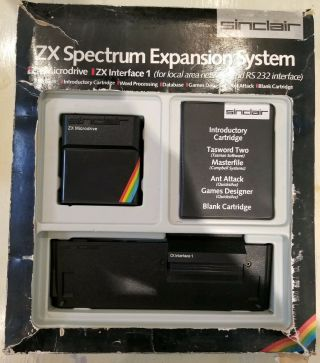 Rare And Complete Sinclair Zx Expansion Pack