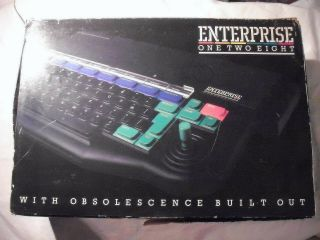 Enterprise 128 Computer,  Boxed With