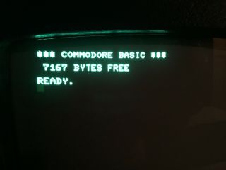 Commodore PET 2001 - 8 Computer - Chicklet Keyboard & Cassette - 8