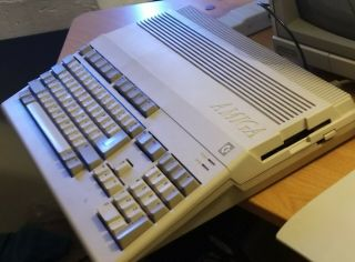 Amiga 500 Computer Great With Power Supply