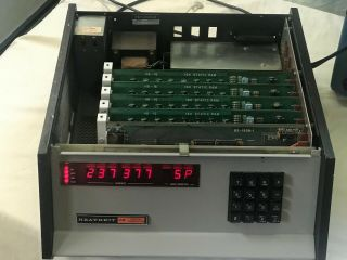 Heathkit H8 Digital Computer Cpu And 48k Static Ram -,