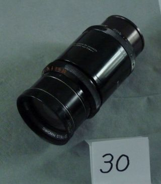 Taylor Hobson Cooke Speed Panchro F2.  0 100mm Cine Lens 30