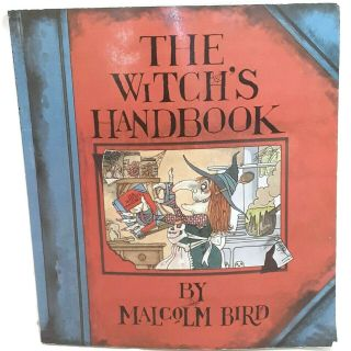 The Witchs Handbook Malcolm Bird Softcover Vintage 1988 1980s