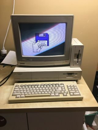 Commodore Amiga 1000 Computer,  1080 Monitor,  1010 Hard Drive,  Keyboard,  Mouse