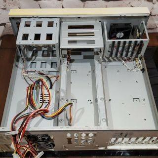 Amiga 4000t Empty Tower Case With Power Supply -,  As - Is