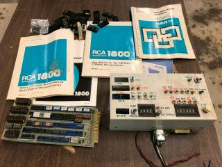 Rca Cosmac Cdp1802 Microprocessor - Unfinished Road Rally Computer Project