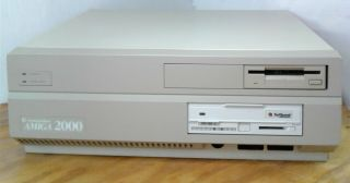 Commodore Amiga 2000 Rev 6 W/ Barracuda Hdd Video Toaster Gvp A2000 Ram