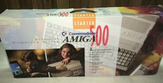 Commodore Amiga Starter A500 Complete With Boxes