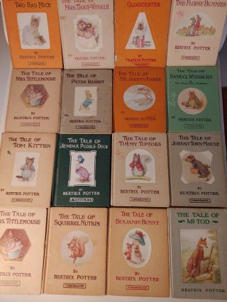 Vintage Tales Of Beatrix Potter Books Author Peter Rabbit