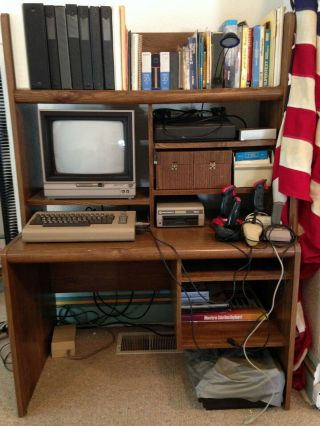 Commodore 64 Computer,  Color Monitor,  2 Drives,  400 Programs,  Much More