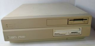 Commodore Amiga 2500 W/a2091 Maxtor Hdd Or Repairs