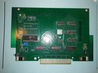 Ti - 99/4a Sid Master Card And Hardware/software Product Rights.