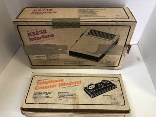 Ti - 99/4 Rs232 Sidecar,  Terminal Emulator Cart,  And Ti - 99 Telephone Modem