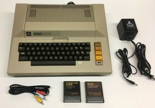 Atari 800 Home Computer - Please Read