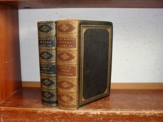 Old History Of Oregon Leather Book Set 1886 Western Settlement Indian Affairs,