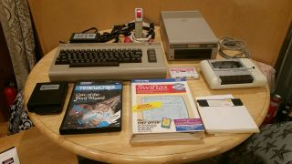 Commodore 64 Computer - 1541 - Datasette All