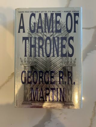 A Game Of Thrones 1st/first - Bantam Spectra Us Edition 1996 - George R R Martin