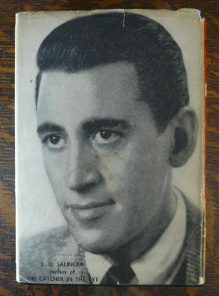 Catcher In The Rye Jd Salinger Author Photo On Dj 1951 Bce Little Brown & Co