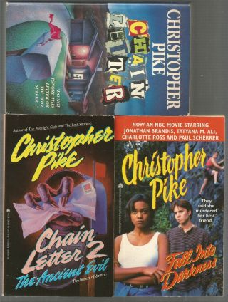 Christopher Pike 20 Horror Stories Young Adult / Teen Chain Letter Last Vampire