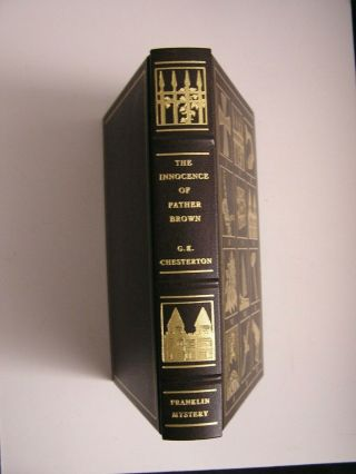 Franklin Library Mystery Masterpieces G.  K.  Chesterton Innocence Of Father Brown