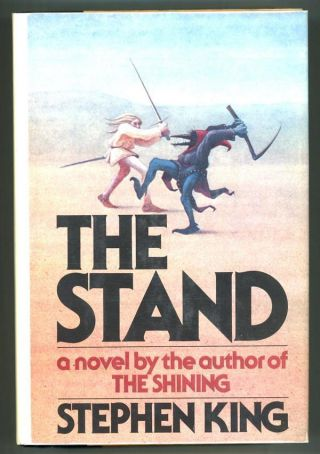 The Stand By Stephen King Signed By Mick Garris (director Of Mini - Series)