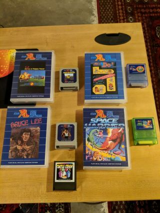 Atari XEGS Game Console,  1050 Disk Drive,  Games,  Accessories,  Boxes BEST ON EBAY 5