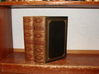Old History Of North Mexican States / Texas Leather Set 1880