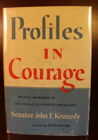 1956 Profiles In Courage 1st Edition History Early Printing John F.  Kennedy Jfk