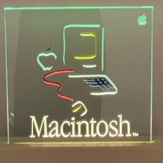 Macintosh Picasso Dealer Electric Sign 1984 Limited Edition