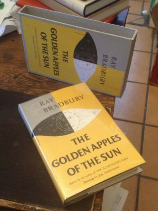 The Golden Apples Of The Sun Bradbury First Edition Library Edition Slipcased