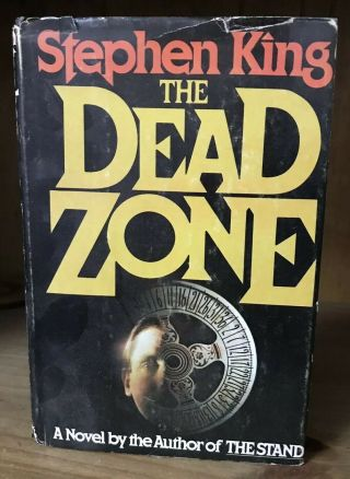 Classic Stephen King The Dead Zone Hard Back Usa First Edition 1979 Viking