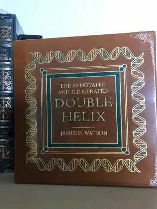 Signed Easton Press Double Helix James D.  Watson Deluxe Limited Edition