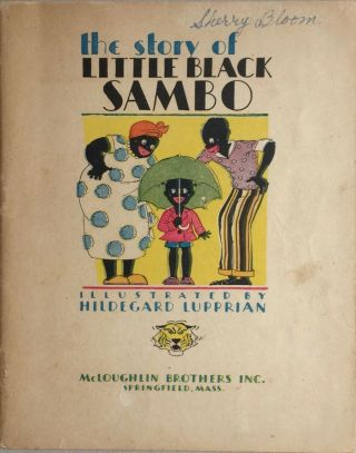 Little Black Sambo Mcloughlin 1931 Illus By Lupprian Vintage Childrens
