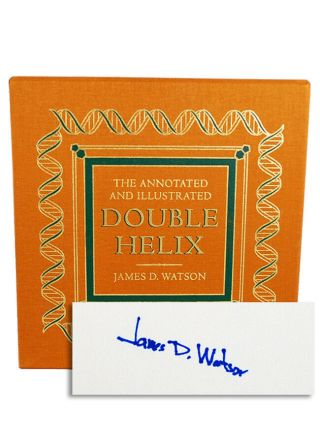 Easton Press Annotated Illustrated Double Helix Watson Signed Limited Edition